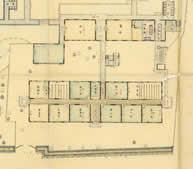旧附属小学校(三重県師範学校全図、部分)