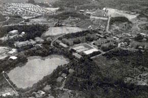 縣立大學大谷町キャンパス(航空写真)