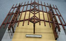 レーモンドホール模型1(展示用)